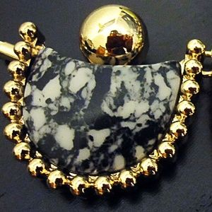 BaubleBar Marble statement necklace BRAND NEW NWT
